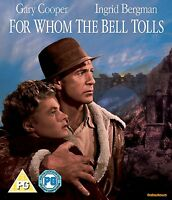 For Whom The Bell Tolls - Blu ray NEW & SEALED - Gary Cooper, Ingrid Bergman
