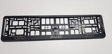 2 x 3D Kennzeichenhalter  Nummernschildhalter AUDI
