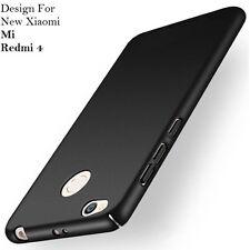 "4 Cut Rubberized Matte Hard Back Case Cover For ""Xiaomi Mi Redmi 4""/Redmi 4X"