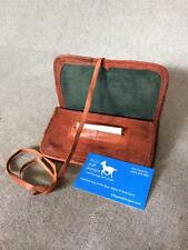 Handmade Goat Leather Tobacco Pouch WTP-P Papers string Billy Goat Designs