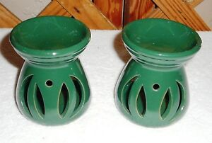 TART WARMERS~Set Of 2~Hunter Green~3&1/2 Inches By 10 Inches~NEW