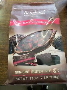 Sealed-  Bouchard Belgian Dark Chocolate Gluten-Free 72% Cacao (32 OZ / 2 LB)