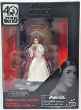 Hasbro Star Wars The Black Series 40th Anniversary Titanium Series Princess