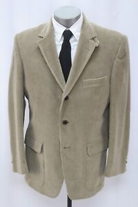 NEW mens ORVIS blazer jacket corduroy hacking sport suit coat elbow patches 42 R