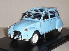 Leo Models. FW02. CITROEN 2CV 4  (1976) in BLUE.SCALE 1/24