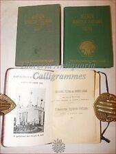 ALMANACCO AGRICOLO 1909 + AGENDA AGRICOLA 1957 e 1976 Illustrati AGRONOMIA
