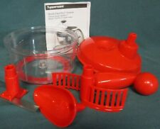 Tupperware  Quick Chef  Pro  System  - red