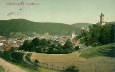 Ansichtskarte Dillenburg mit Schlossberg 1907  (Nr.831)