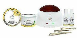 GiGi Brazilian Waxing Kit Sensitive Body Hair Pro Wax Warmer Removal System 0954