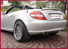 Pick Color 05-10 M-Benz R171 SLK280 SLK350 SLK55AMG AMG Type Trunk Boot Spoiler