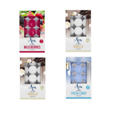 15x of Scented Tea Light Candles of Various Frangrances Gift Pack choice