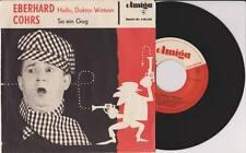 "EBERHARD COHRS Hallo Doktor Watson So Ein Gag 7"" Vinyl Single AMIGA 1964 * RAR"