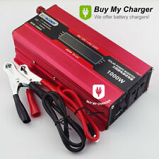 1000W Solar power inverter DC 12v to AC 220v Power Supply Voltage Converter
