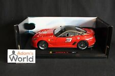 Hot Wheels Elite Ferrari 599 XX 1:18 #3 red (PJBB)