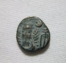 ELYMAIS, AE DRACHM. KAMNASKIRES-ORODES, C. LATE 2ND CENTURY AD. 3.83 GRAM.