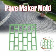Pave Maker Mold Plastic Garden Stone Driveway Brick Pp Garden House Floor Mould
