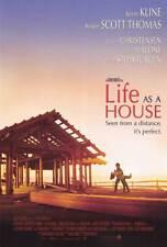 LIFE AS A HOUSE Movie POSTER 27x40 B Kevin Kline Hayden Christensen Kristin