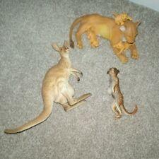 More details for kangaroo lioness with cubs meerkat wildlife toy animal model figure aaa