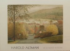 Lithografie Harold Altman - At le Mont Editions: Fall in Atlanta