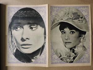 Audrey Hepburn and Rex Harrison original East German program 1967 My Fair Lady