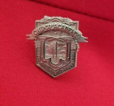 Monsanto Chemical Company Pin Chipco Academy Agriculture Vintage Lapel Pin