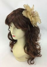 Light Brown Fascinator Melbourne Cup Fascinate Spring Races Party Wedding