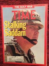 THE GULF WAR NORMAN SCHWARZKOPF  TIME MAGAZINE FEBRUARY 4 1991 VERY GOOD