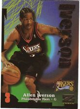 1997-98 Skybox Z-Force #150 Allen Iverson Philadelphia 76ers (2018-0602)