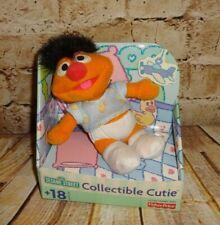 """Sesame Street Collectible Cutie Ernie 5"""" Plush Doll 2001 Original Box"""