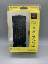Official OEM Sony PlayStation 2 (PS2) DVD Remote Control Black - New Sealed RB3