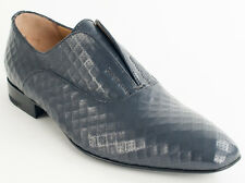 New  Cesare Paciotti  Gray Leather Shoes UK 8 US 9 Retail $ 635