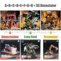 OY SS Devastator 8in1 Assemble Transformers Robot Action Figure Boy Gift Kid Toy
