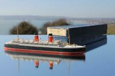 ALLAN LINE RMS ALSATIAN BASSETT LOWKE WATERLINE MODEL SHIP C-1920'S BOXED & MINT