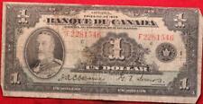 1935 Canada $1 Circulated Note