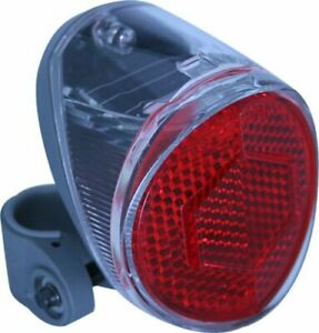 CATEYE Bicycle Safety Light TL-SLR200 for Seat Stay Solar Battery Charger Japan
