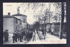 81 - CADIX - Sortie de la Messe - N°987 Labouche Frères