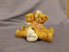 Enesco 1997 Our Anniversary Cherished Teddies Figurine #215880