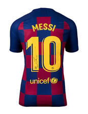 FC Barcelona Shirt Signed By Lionel Messi 100% Authentic With COA