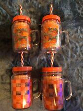 Pioneer Women Mason Jars W/Lids X4 NIB