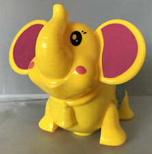 LIGHT & SOUND BATTERY OPERATED BUMP & GO CUTE ELEPHANT TOY FOR KIDS OVER 3 700-2