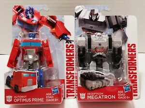 Transformers Optimus Prime And Megatron Set 4.5 Inches