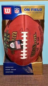 SUPER BOWL XL Official WILSON NFL Game Ball SEAHAWKS vs. STEALERS On Field NEW