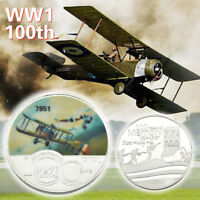 WR World War I 100year Of Memory Silver Coin Anniversary Souvenir Gift