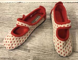 Chaussures Rouge Avec Un Motif à Pois Pour Femme Ebay