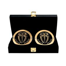 Official WWE Authentic Roman Reigns Championship Replica Side Plate Box Set