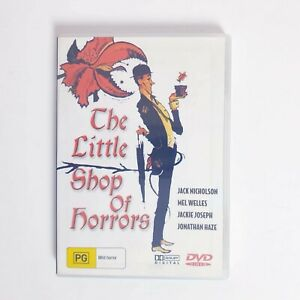 The little Shop Of Horrors Movie DVD Region 4 AUS Free Postage Horror Comedy