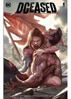DCEASED #1 INHYUK LEE VARIANT NM SUPERMAN BATMAN WONDER WOMAN HORROR DC COMICS
