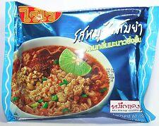 WAI Noodles Minced Pork Tom Yum Flavor 60g Pack of 6 International Foods Food