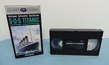 S.O.S. TITANIC ~ (VHS, 1996 ed. of 1978 film) ~ HTF ~ Mirren, D Warner, Leachman