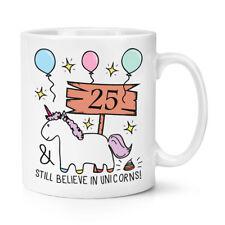 25th anniversaire crois encore licornes 10 oz (environ 283.49 g) Tasse-Drôle Happy Cadeau